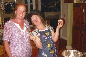 With big sister Lili