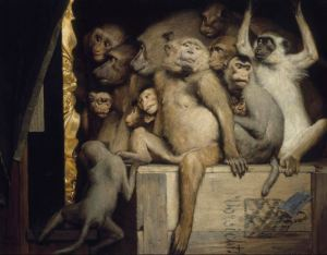 Monkeys as Judges of Art, 1889. Retrieved from WikiArt.