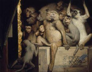 Monkeys as Judges of Art, 1889. Retrieved from WikiArt.