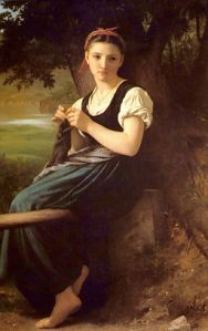 the_knitting_woman_painting_by_william-adolphe_bouguereau
